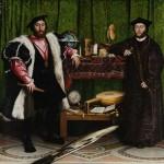 "H. Holbein ""Gli Ambasciatori"" (1533) - National Gallery, Londra"